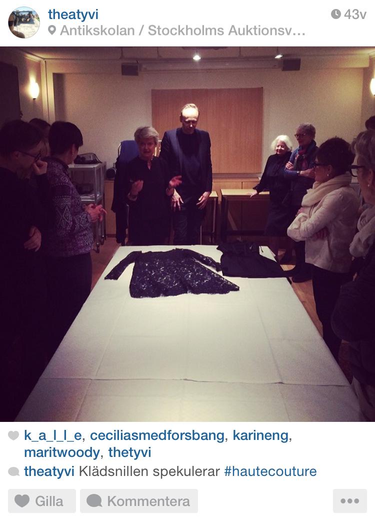 Modekurs på Stockholms Auktionsverk