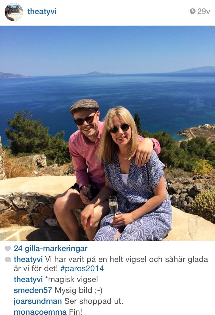 Bröllop på Paros