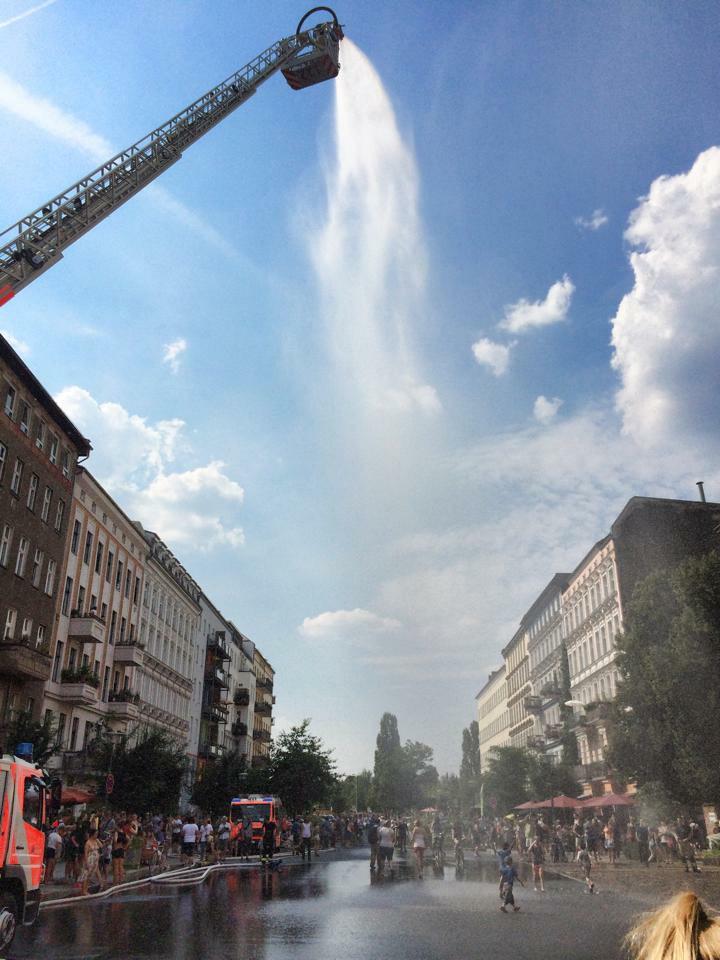 Prenzlauer Berg, Berlin juli 2014